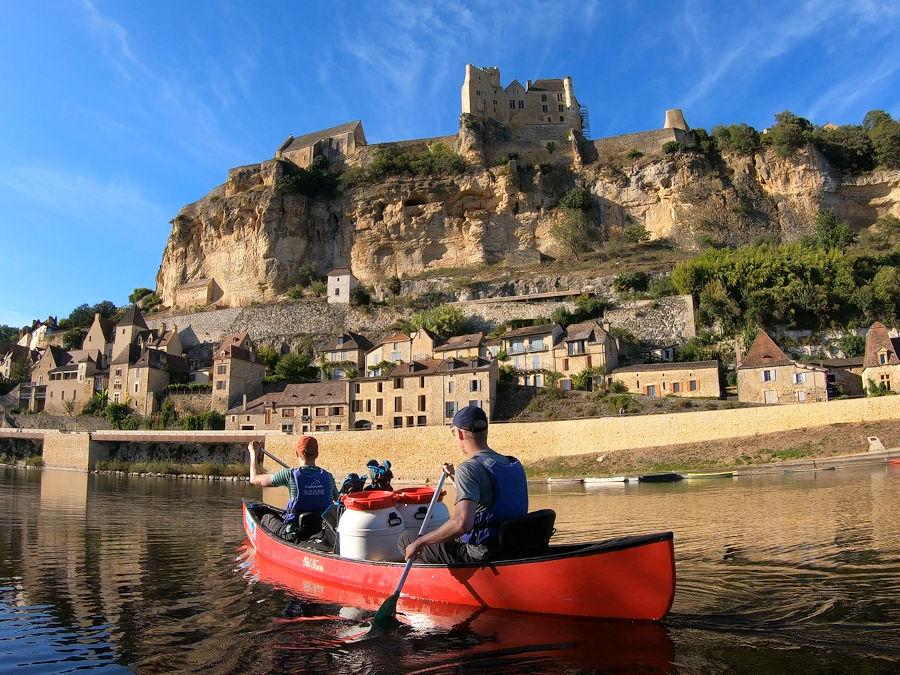 Canoeing on the Dordogne (Vitrac)